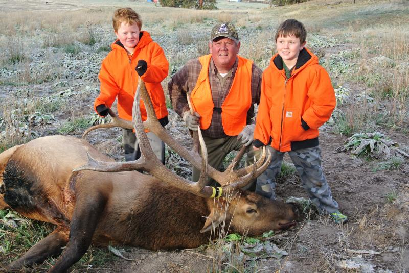 FALL 2015 BIG GAME HUNTING SEASON ON OUR RANCH.